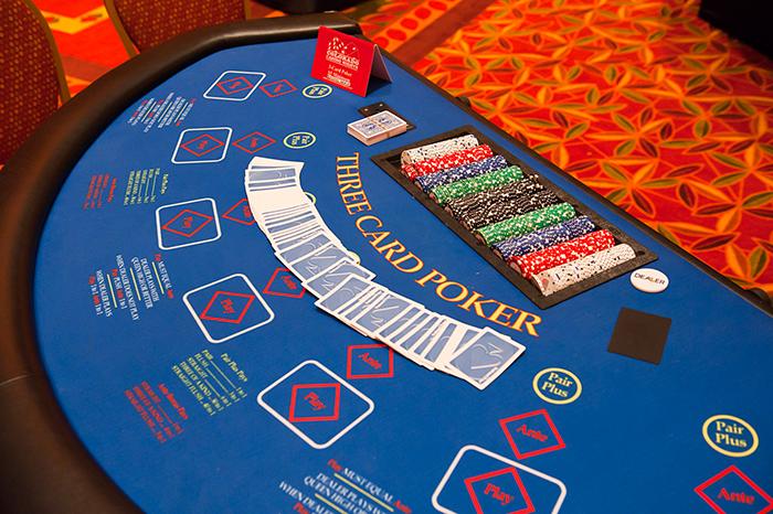 Poker rules 3 card brag