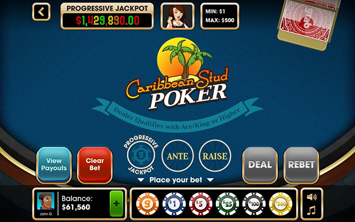 online casino no deposit bonus keep winnings caribbean stud
